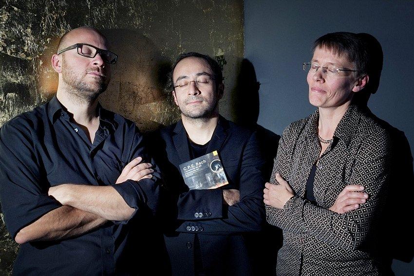 """Tim, Ricardo und Karola - CD-Release """"C.P.E. Bach"""""""