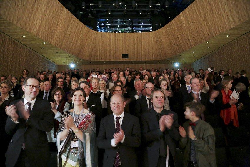 Eröffnung - Kleiner Saal in der Elbphilharmonie